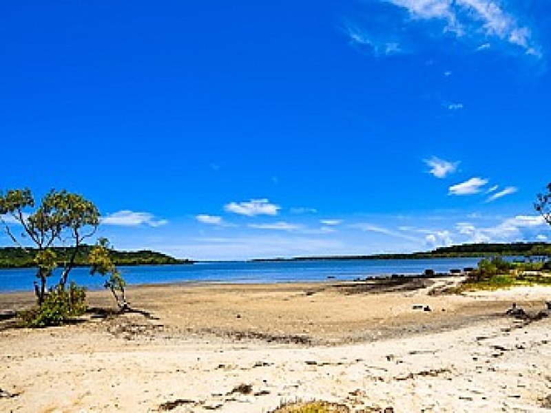 Sandy Beach on Russell Island