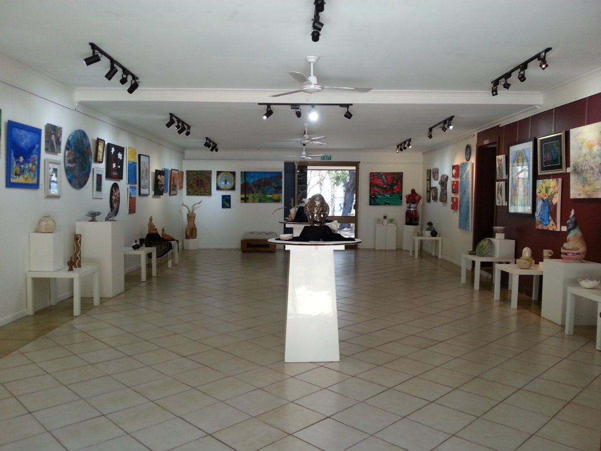 Macleay Is Art Gallery inside 2