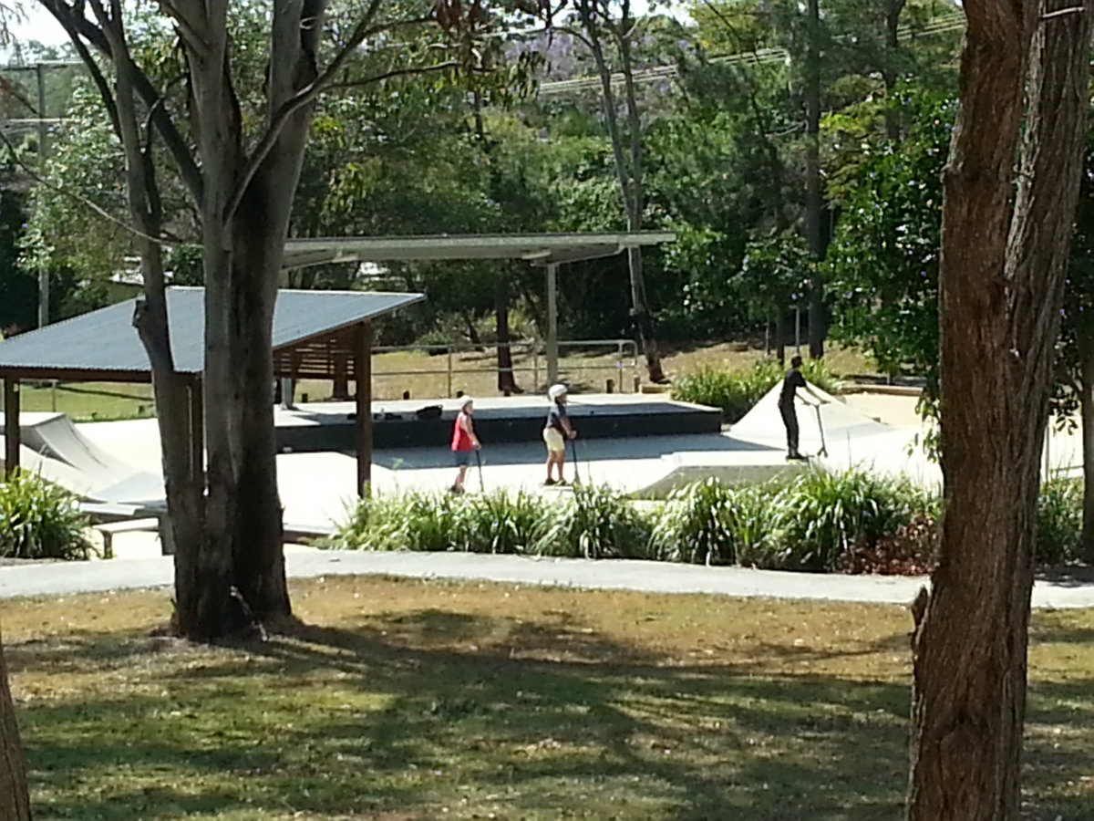 Macleay Is Skate Board Park