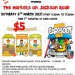Flyer of Markets on Jackson